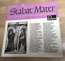 25cm D. Scarlatti Stabat Mater Anthon van der Horst Niederländischen Bach NM