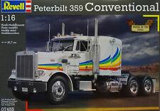 Revell 07445 Peterbilt 359 Convertional Truck 1:16 Bausatz, NEU & OVP!
