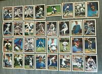 1991 SEATTLE MARINERS Topps COMPLETE Baseball Team Set 32 Cards GRIFFEY JR & SR!