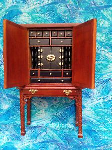 Bespaq Dollshouse cabinet with draws (Bureau/cupboard) Super details