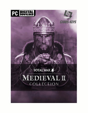 Medieval II 2 Total War Collection Steam Download Key Digital Code [DE] [EU] PC