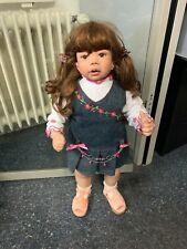 Monika Levenig Künstlerpuppe Vinyl Puppe 70 cm. Top Zustand