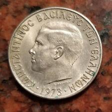 1973 GREECE 2 DRACHMA COIN - HIGH GRADE - #2678