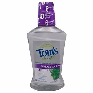 Whole Care Mouthwash Fresh Mint 16 Oz by Tom's Of Maine