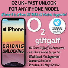 IPHONE X IPHONE XS XR O2 UNLOCK CODE UNLOCKING SERVICE O2 UK FAST UNLOCK CODE O2