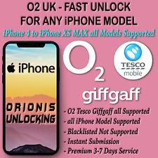Unlock Code For iPhone 4 4S 5 5S 5C SE 6 6S 7 8 X XS MAX XR O2 Tesco Unlocking