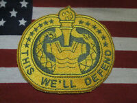 US ARMY DRILL INSTRUCTOR COLOR BADGE PATCH c/e
