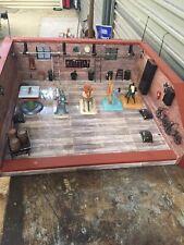 Wilesco Steam engine Victorian workshop with 5 accessories (wilesco)