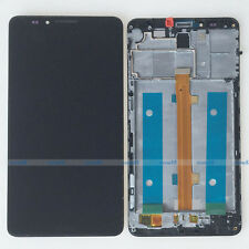 Black LCD Display Touch Screen Digitizer Assembly Frame For Huawei Ascend Mate 7