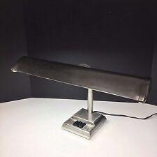 Vintage Gooseneck Fluorescent Desk Lamp Industrial Steampunk Style Shop Light