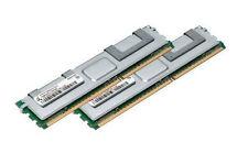 2x 4gb 8gb di RAM per server Dell PowerEdge r900 sc1430 667 MHz Fully Buffered ddr2