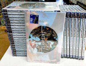 BATMAN FORTNITE ZERO POINT HC Hardcover w/7 DC-themed Fortnite Codes NEW 09/2021