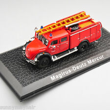 ATLAS 1/72 Scale Magirus-Deutz Mercur Old Fashion Fire Truck Vehicles Car Model