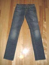 MISS SIXTY Denim 5 POCKET Staright LEG Medium BLUE  Size 26 Cotton&Elastane
