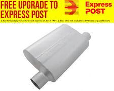 """Flowmaster 40 Series Delta Flow Muffler 2.5"""" Offset Inlet / Offset Outlet - Same"""