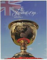2011 PRESENTATION STAMP PACK 'THE PRESIDENTS CUP' - EMBOSSED MINI SHEET 15 x 60c