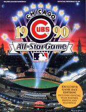 8X10 PHOTO OF THE 1990 ALL STAR GAME PROGRAM Cover .CUBS