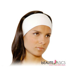 3 Count Professional Stretchable Terry Spa Headbands 80% Cotton - AH1003 x3