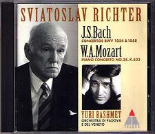 Sviatoslav RICHTER: BACH MOZART Piano Concerto Yuri BASHMET CD Klavierkonzerte