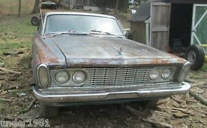 1963 PLYMOUTH SATELLITE FURY BELVEDERE HEADLIGHT BULB PROJECT PARTS