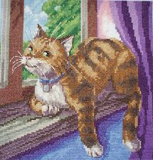 CL40 Best Seat in MY House Cat Counted Cross Stitch Chart by Vanessa Wells