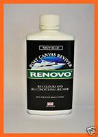 "RENOVO MARINE / BOAT CANVAS REVIVER, ""NAVY BLUE"" 500ml."