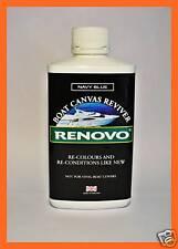 "RENOVO MARINE / BOAT CANVAS REVIVER, ""NAVY BLUE"" 500ml."