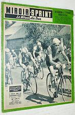 MIROIR SPRINT N°578 C 1957 CYCLISME TOUR FRANCE FORESTIER METZ-COLMAR-BESANCON