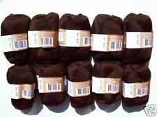 (88,00€/1kg) 500g 100% ALPAKA weiche reine Alpakawolle Wolle ALPACA Dunkelbraun