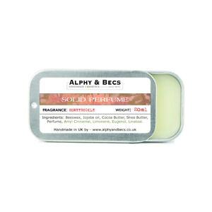 Alphy&Becs Natural Solid Perfume for Women Honeysuckle 20ml Handmade In UK