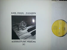 PRIVATE SWF SCARLATTI MOZART SCHUBERT RAVEL ENCORES - PIANO KARL ENGEL NM -M