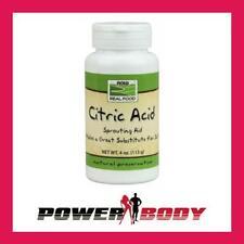 Now Foods-Acide Citrique - 113 g
