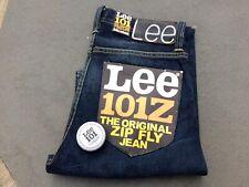 "NOS $250 Levi's Lee 101Z L95049GB ""250 Day"" Zip Fly Selvedge Denim Jeans w/ Kit"