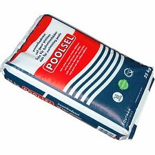 Poolsel® 25kg Pool Meersalz Poolsalz Salzelektrolyse Salz Salzwasser Chlorinator