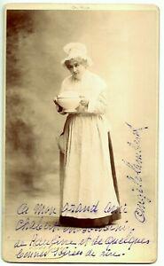 Angèle LAMBERT, comédienne, début du XIXe siècle Photographie dédicacée signée
