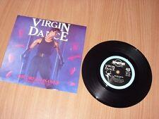 """Virgin Dance: The dream is over   UK   7""""    EX+"""