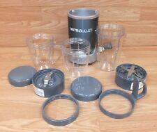 Genuine NutriBullet Magic Bullet (NB-WL012-23) Food Juicer / Blender & cups