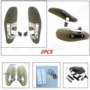 Custom Motorcycle Wind Deflector Handle Mirror Thread Hand Guard Protectors Hot