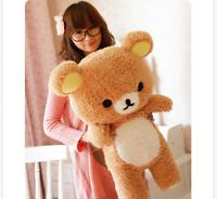 55cm Stuffed Kawaii San-x Rilakkuma Relax Bear Soft Pillow Plush Toys Doll Gift