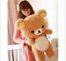 55cm Stuffed Kawaii San-x Rilakkuma Relax Bear Soft Pillow Plush Toys Doll Gift*
