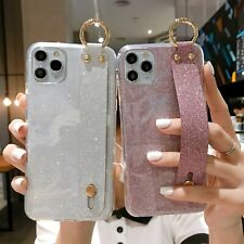 Glitter Wristband Hot New Luxury Fashion Women Girl Phone Case Cover For Samsung