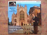 ASD 473 - Yehudi Menuhin - Mozart Violin Nos. 3&5 ( LP HMV - ASD 473- Original )