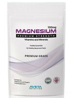 MAGNESIUM Mineral Supplement TIREDNESS & FATIGUE TABLETS (UK MADE)