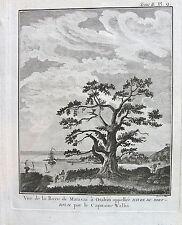Vue de la Baye de Matavai à Otahiti appalee Havre du Port Royal, par le capitain