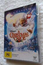 DISNEY'S A CHRISTMAS CAROL- JIM CARREY (DVD) R-4, NEW, FREE POST IN AUSTRALIA