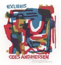 Ex Libris Jan Battermann : Opus 137, Cees Andriessen