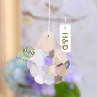 Clear Hanging Cut Crystal Chandelier Rainbow Prism Feng Shui Drops Pendants 50mm