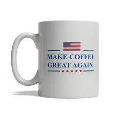 Donald Trump - Make Coffee Great Again, Ceramic Coffee Mug, 11oz, Free Shipping