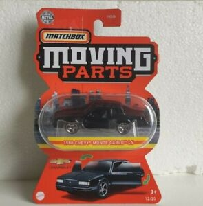 2021 Matchbox Moving Parts 1988 Chevy Monte Carlo LS