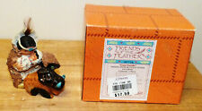 """Friends of The Feather """"Great Provider"""" Indian w/Buffalo by Enesco"""